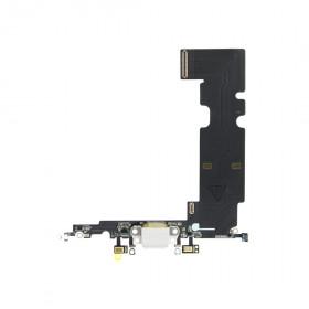 CONECTOR DE CARGA Apple iPhone 8 PLUS Antena de micrófono de base plana blanca