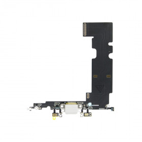 CONNETTORE DI RICARICA Apple per iPhone 8PLUS Bianco Flat Dock Microfono Antenna