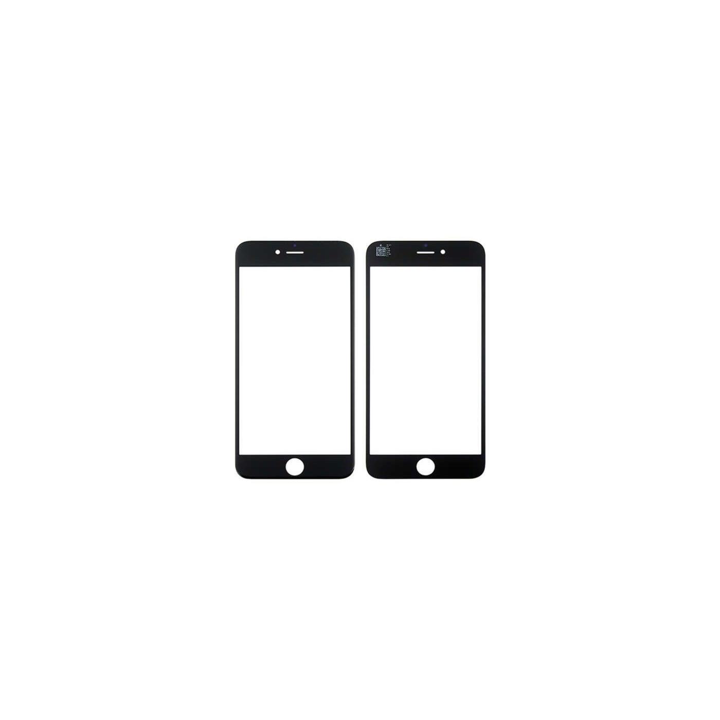 Vetro vetrino frontale per iphone 6 Plus - 6s Plus nero touch screen