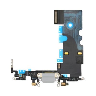 CONNECTEUR DE CHARGEMENT Antenne pour microphone à dock plat blanc Apple iPhone 8