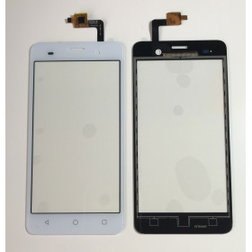 TOUCH SCREEN Per Wiko Jerry VETRO Digitizer Bianco VETRINO