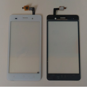 TOUCH SCREEN GLASS WIKO LENNY 3 white slide