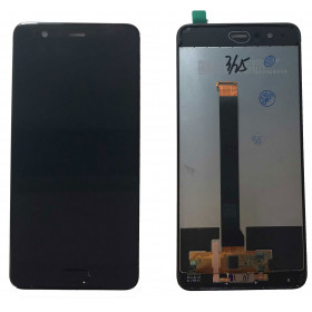 TOUCH SCREEN VETRO + LCD DISPLAY PER HUAWEI P10+ P10 PLUS VKY-L09 NERO