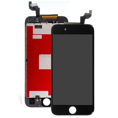 TOUCH SCREEN LCD DISPLAY RETINA PER APPLE IPHONE 6S BIANCO VETRO SCHERMO + FRAME