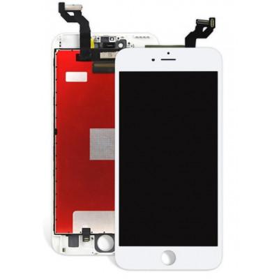 TOUCH SCREEN LCD DISPLAY RETINA PER APPLE IPHONE 6S BIANCO VETRO SCHERMO + FRAME