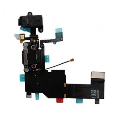 Cavo Flat Connettore Di Ricarica Per Apple Iphone 5C Microfono Speaker Nero
