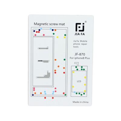 Magnetische Teppich Karte Reparatur Schrauben iPhone 8 Plus Werkzeuge 15 cm x 10 cm
