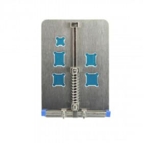 Supporto per riparazione scheda iphone samsung smartphone in acciao Inox