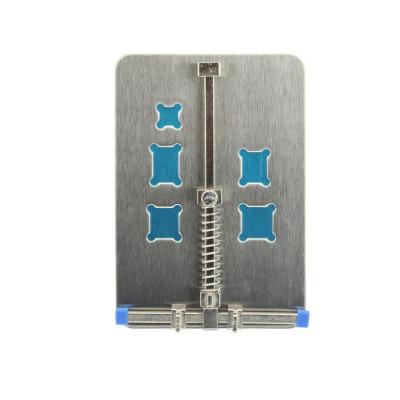 Support pour la réparation iphone iphone samsung smartphone en acier inoxydable