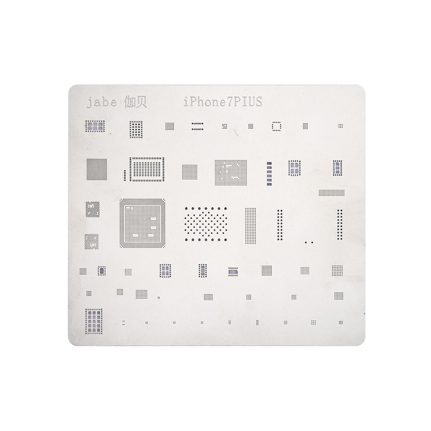 Mobile Phone Rework iPhone 7 Plus Repair BGA Reballing Stencils Repair