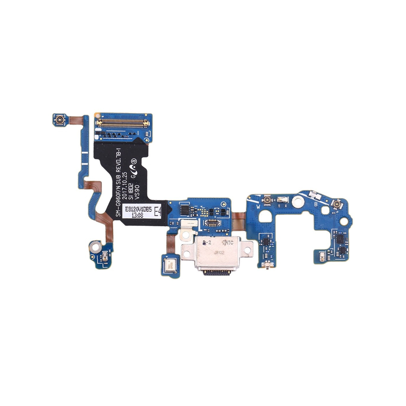 Connecteur de charge Flat Flex pour microphone Galaxy S9 G960F