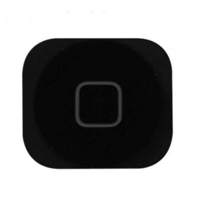 Botón De Inicio Para Apple Iphone 5C Negro