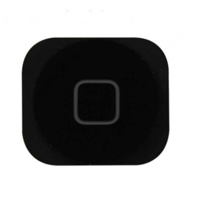 Tasto home per apple iphone 5c button bottone centrale pulsante cursore nero
