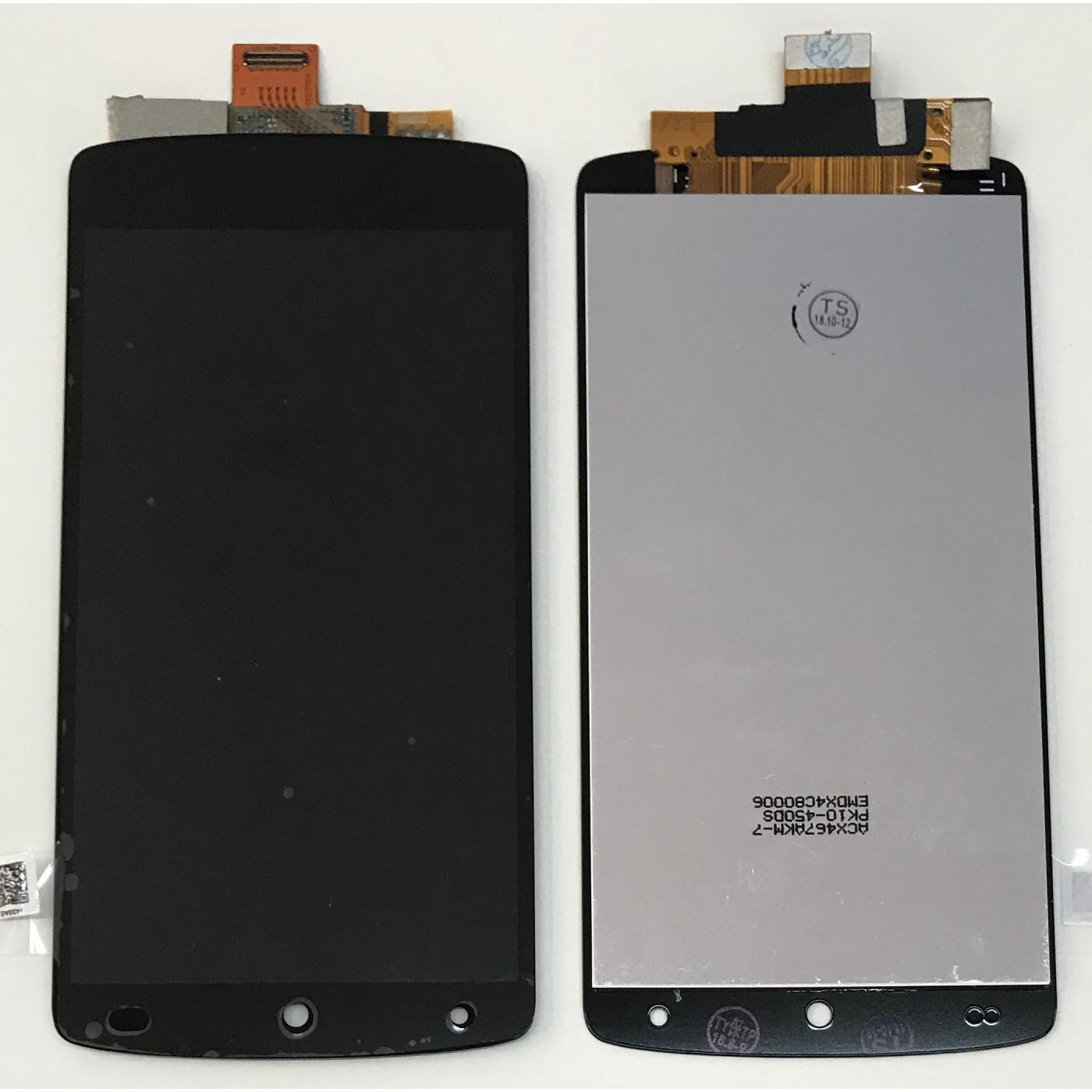 ECRAN TACTILE + AFFICHEUR LCD LG Google Nexus 5 D820 D821 Noir