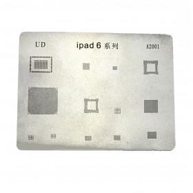 Reparación de retrabajo de teléfonos móviles BGA Reballing Stencils para reparación de Ipad Air 2