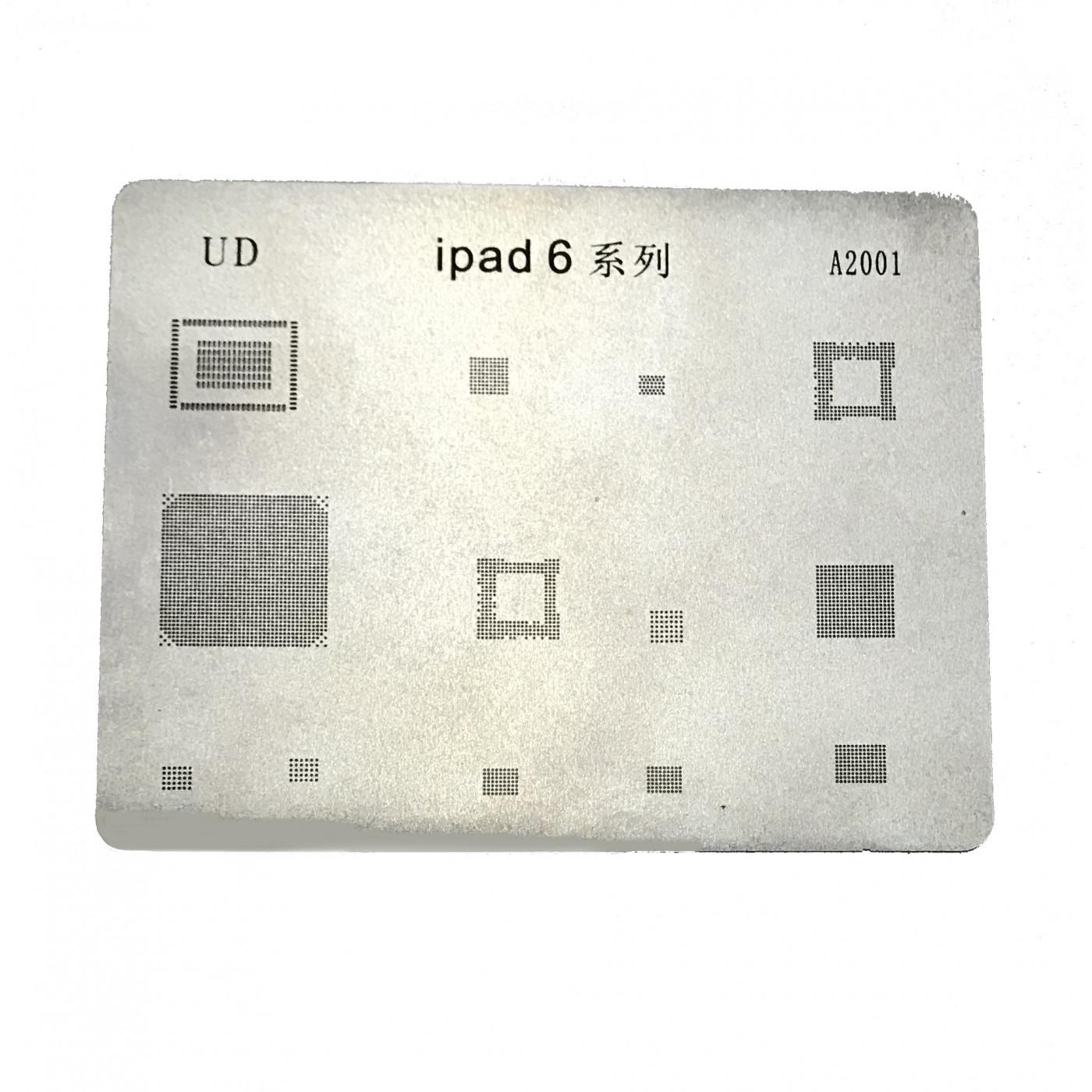 Mobile Phone Rework Repair BGA Reballing Stencils per Ipad Air 2 riparazione