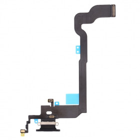 CONECTOR DE CARGA para Apple iPhone X BLACK Flat Dock
