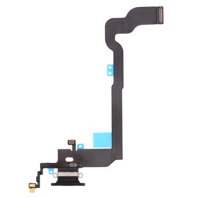 Cavo Flat Connettore Di Ricarica Per Apple Iphone X Nero