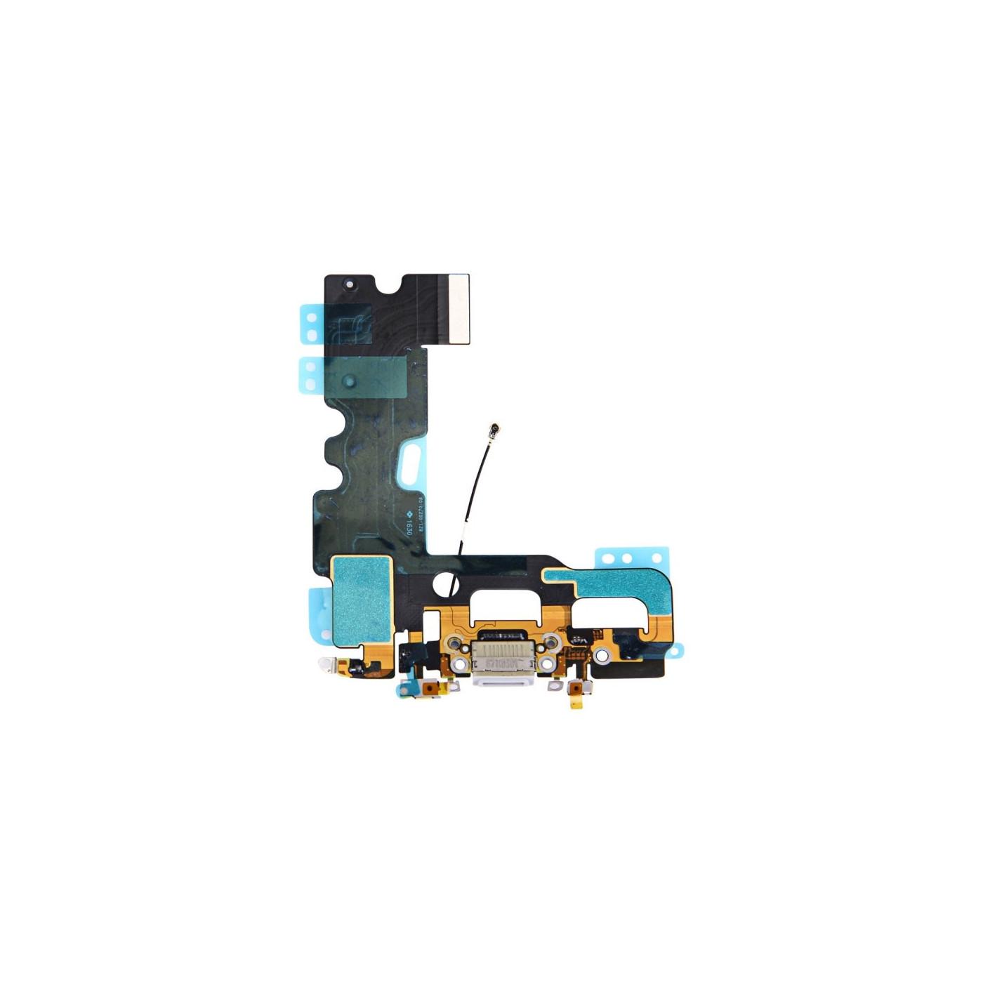 Flacher flex ladeanschluss für iphone 7 Grau dock audio mikrofon