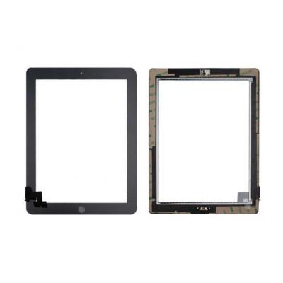Touch Screen Per Apple Ipad 2 Nero A1395 A1396 A1397 Wifi E 3G Vetro + Tasto Home