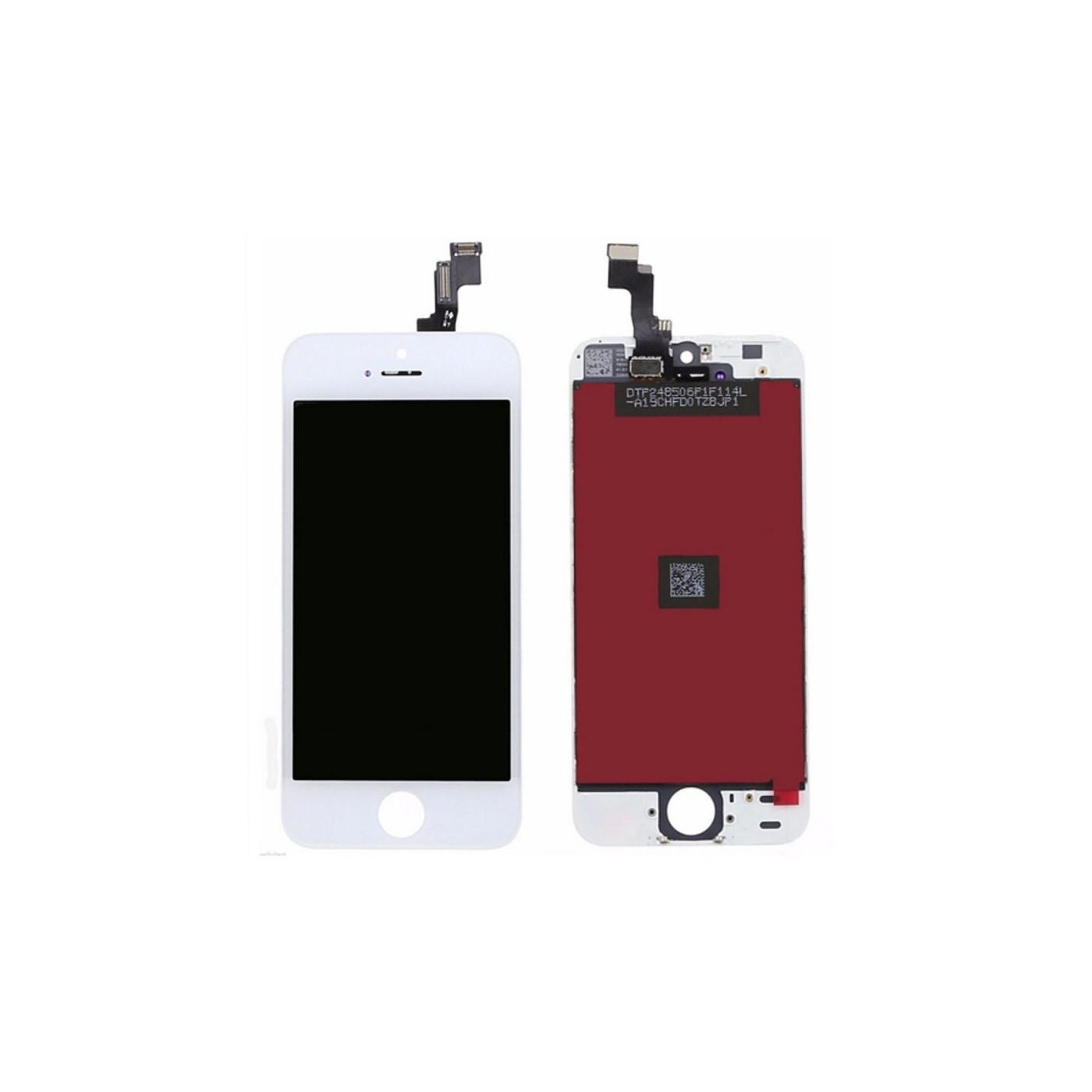 Touch screen display LCD per apple iphone SE nero frame vetro retina