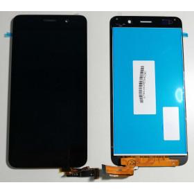 PANTALLA TÁCTIL PANTALLA LCD DE VIDRIO + ASSEMBLED Negro Huawei Ascend SCL-L21