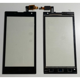 TOUCH SCREEN GLASS ZTE Blade G LUX V830W BLACK SLIDE