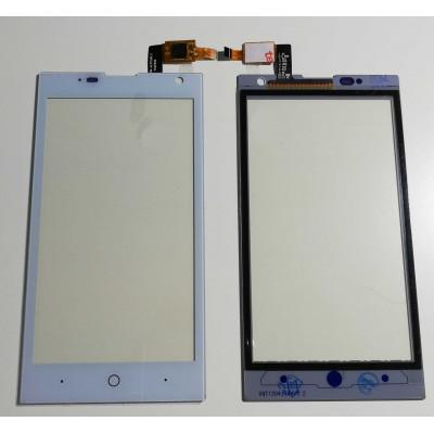 Vetro Touch Screen Per Zte Blade G Lux V830W Bianco