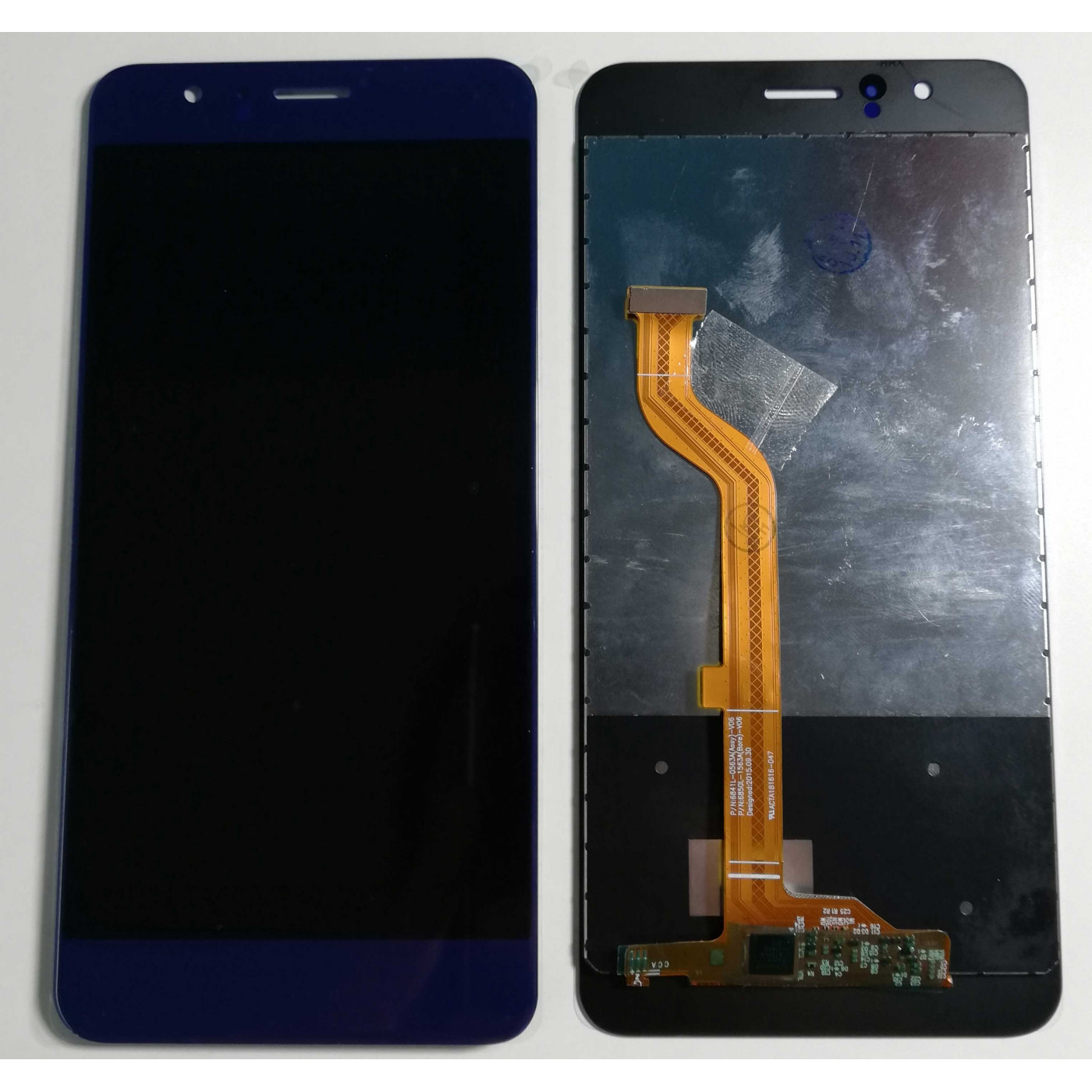 LCD-ANZEIGE für HUAWEI HONOR 8 FRD-L09 FRD-L19 Blau TOUCH SCREEN GLASS