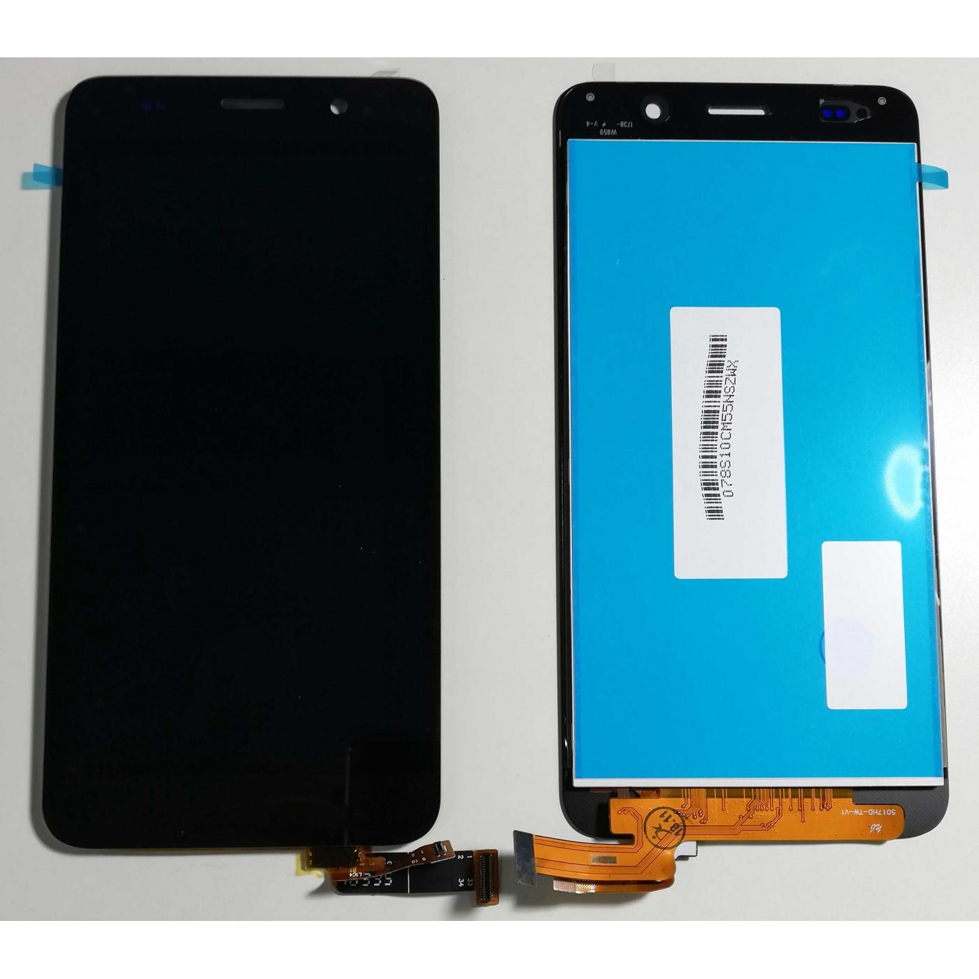 PANTALLA TÁCTIL DE VIDRIO + Pantalla LCD para ASSEMBLED Negro Huawei Ascend SCL-L01