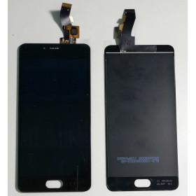 PANTALLA TÁCTIL DE VIDRIO + ensamblaje de la pantalla LCD Meizu M3S Y685C Y685H Negro