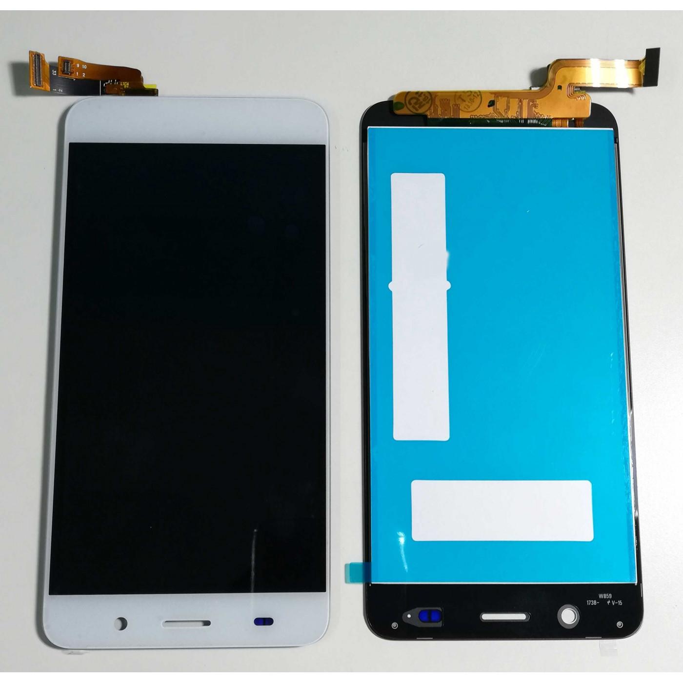 Écran tactile LCD DISPLAY VERRE + Pour ASSEMBLEES Huawei Ascend Y6 Blanc