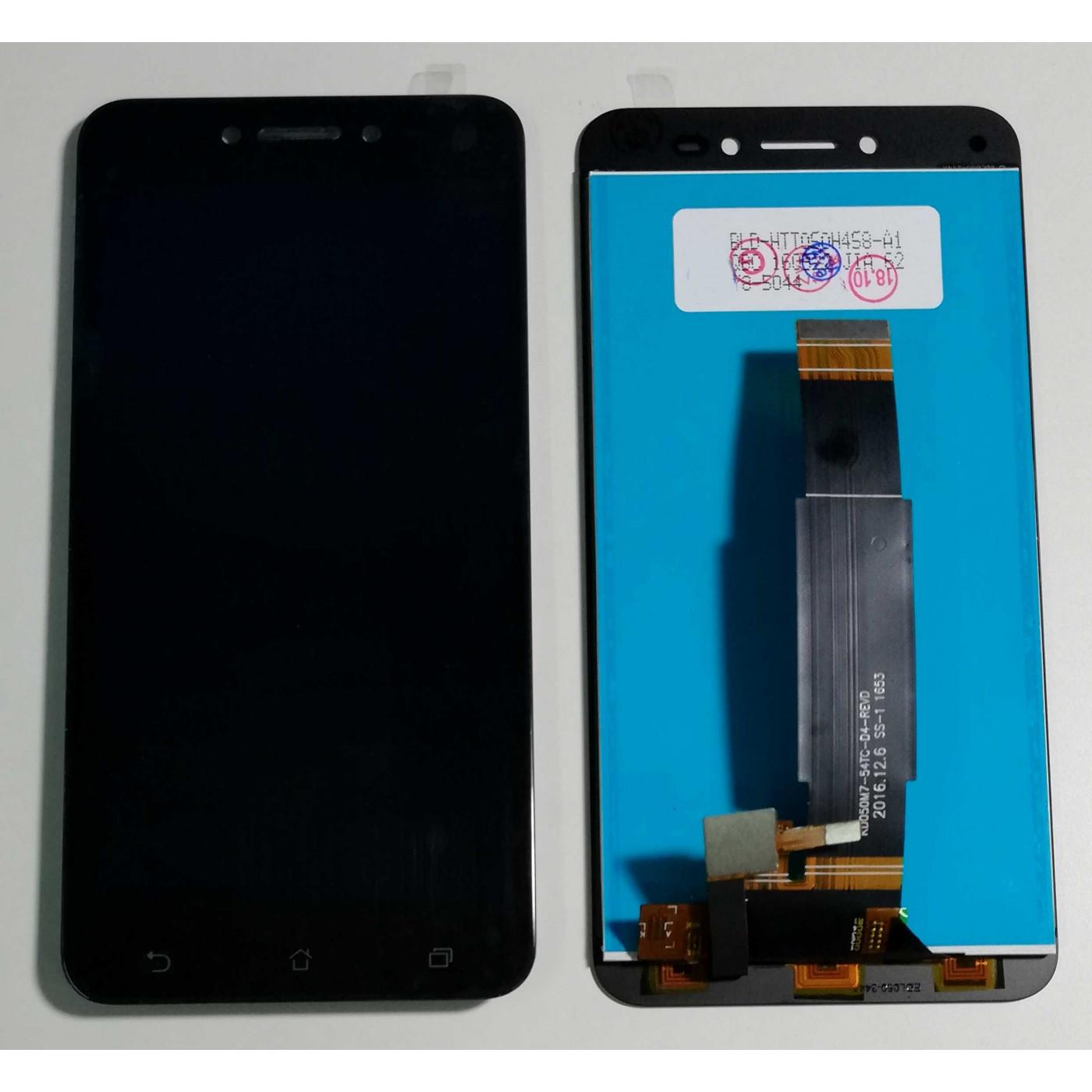 Screen-Glas + LCD-Display für LIVE-ZB501KL ZENFONE ASUS A007 Schwarz