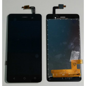 TOUCH SCREEN VETRO + LCD DISPLAY ASSEMBLATI Wiko Lenny 3 Nero