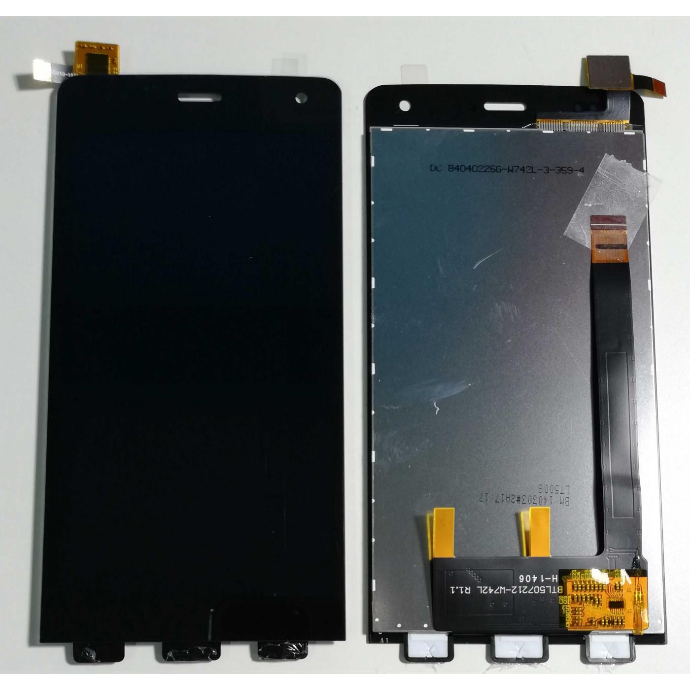 Écran tactile + LCD DISPLAY pour ASSEMBLEES WIKO ESCAPADE NOIR