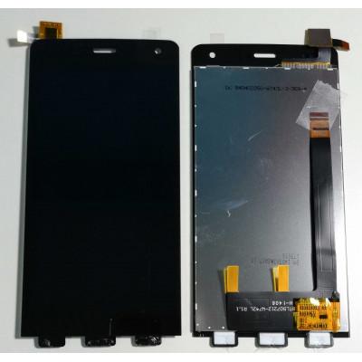 TOUCH SCREEN + LCD DISPLAY ASSEMBLATI per WIKO GETAWAY NERO