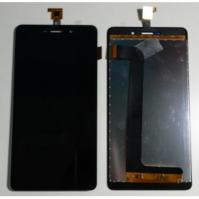 TOUCH SCREEN VETRO + LCD DISPLAY ASSEMBLATI Per Wiko Pulp Fab 4G 5.5 Nero