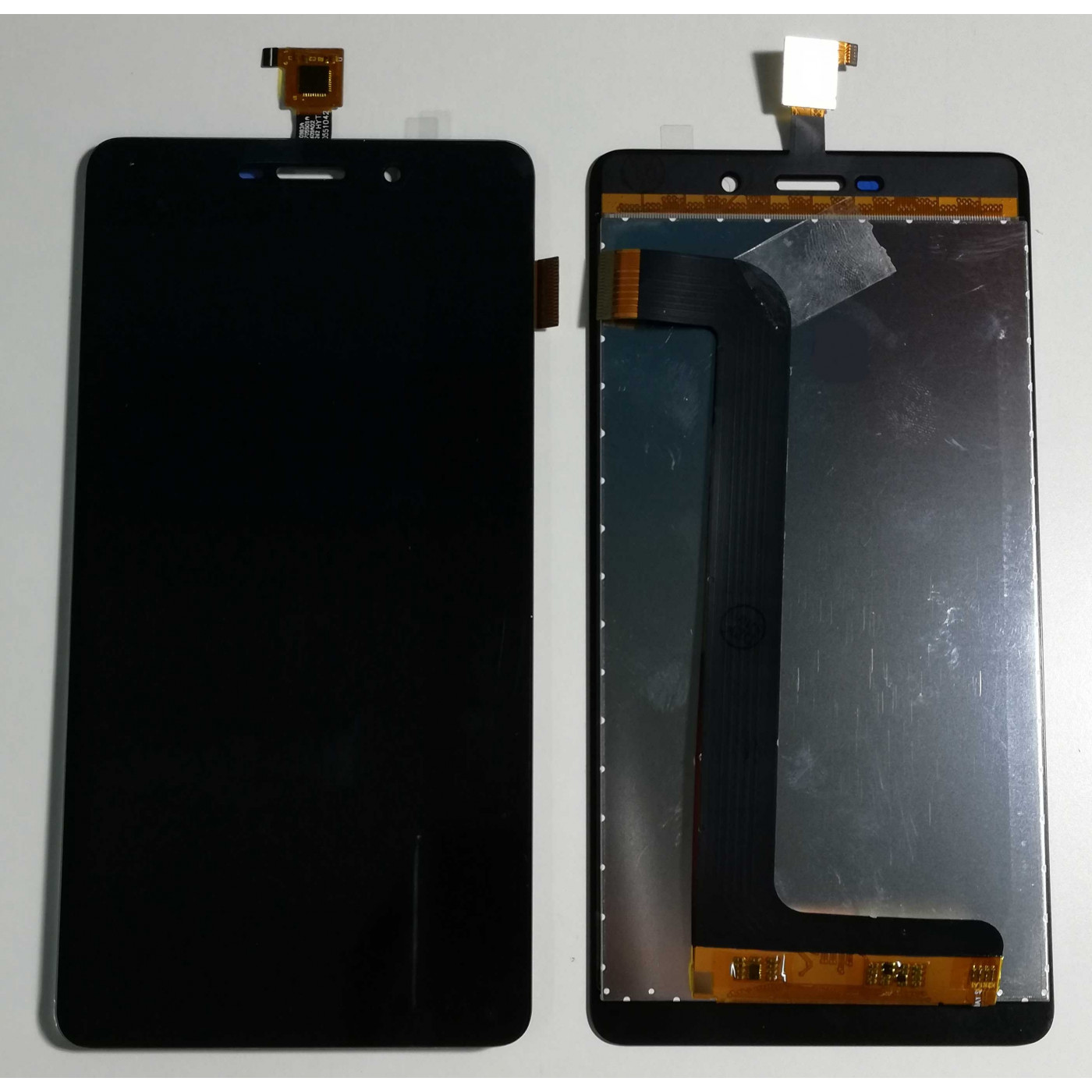 TOUCH SCREEN GLASS + LCD DISPLAY For ASSEMBLED Wiko Pulp Fab 5.5 4G Black