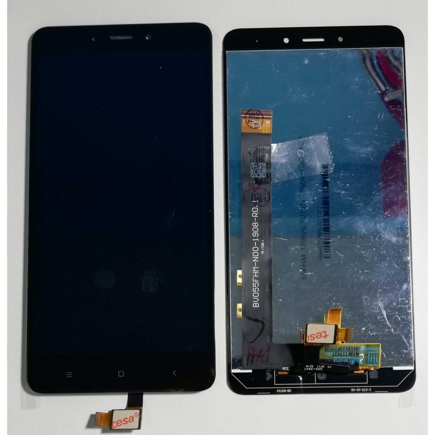 Screen-Glas + LCD-Display für ASSEMBLED XIAOMI Redmi ANMERKUNG 4 Schwarz