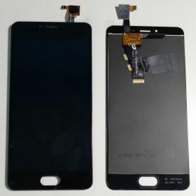 PANTALLA TÁCTIL DE VIDRIO + ensamblaje de la pantalla LCD Meizu MINI M3S Y685C Y685H Negro