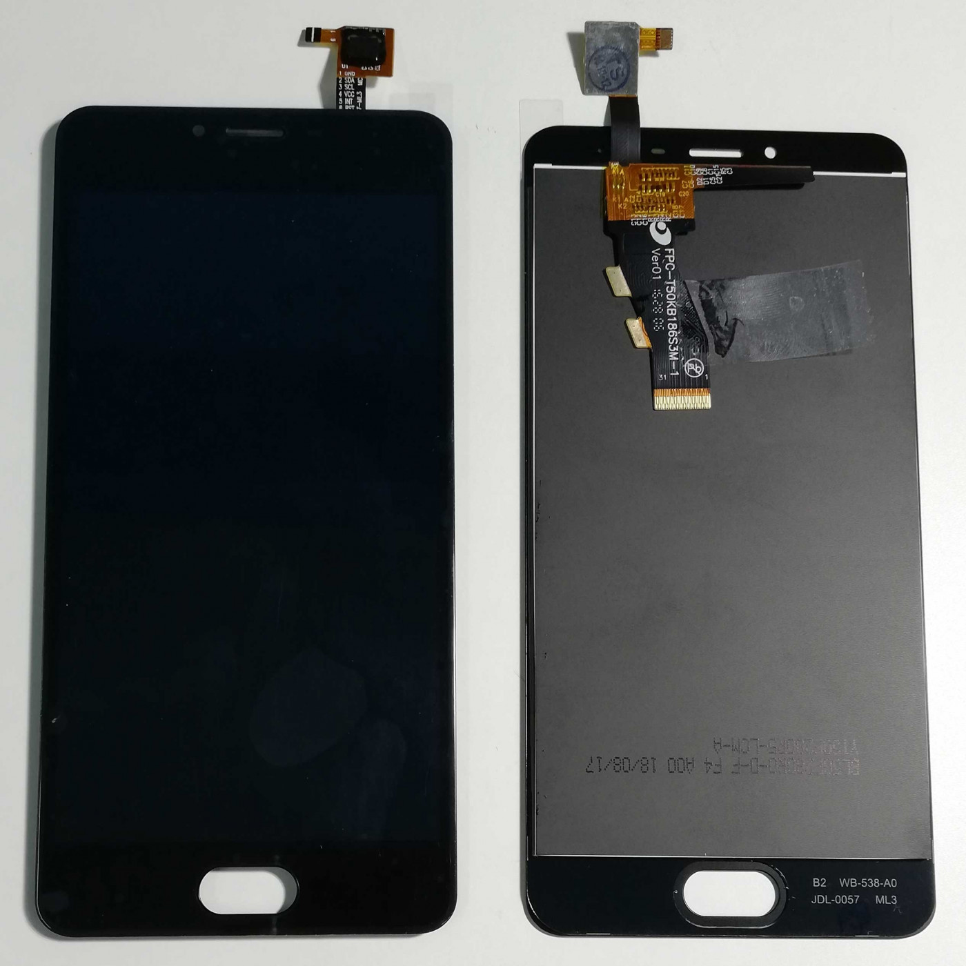 TOUCH SCREEN GLASS + LCD DISPLAY ASSEMBLY MEIZU MINI M3S Y685C Y685H Black