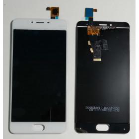 PANTALLA TÁCTIL DE VIDRIO + ensamblaje de la pantalla LCD Meizu MINI M3S Y685C Y685H Blanca