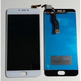 PANTALLA TÁCTIL DE VIDRIO + ensamblaje de la pantalla LCD MEIZU M3 NOTAS L681H Blanca