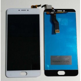 TOUCH SCREEN VETRO + LCD DISPLAY ASSEMBLATO MEIZU M3 NOTE L681H Bianco