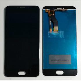 PANTALLA TÁCTIL DE VIDRIO + ensamblaje de la pantalla LCD MEIZU M3 NOTAS M681H Negro