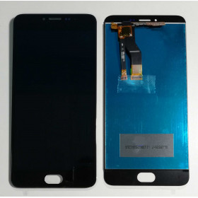 TOUCH SCREEN VETRO + LCD DISPLAY ASSEMBLATO MEIZU M3 NOTE M681H Nero