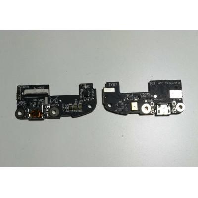 Conector de carga plana y flexible para reemplazo de datos del puerto de carga Asus Zenfone 2
