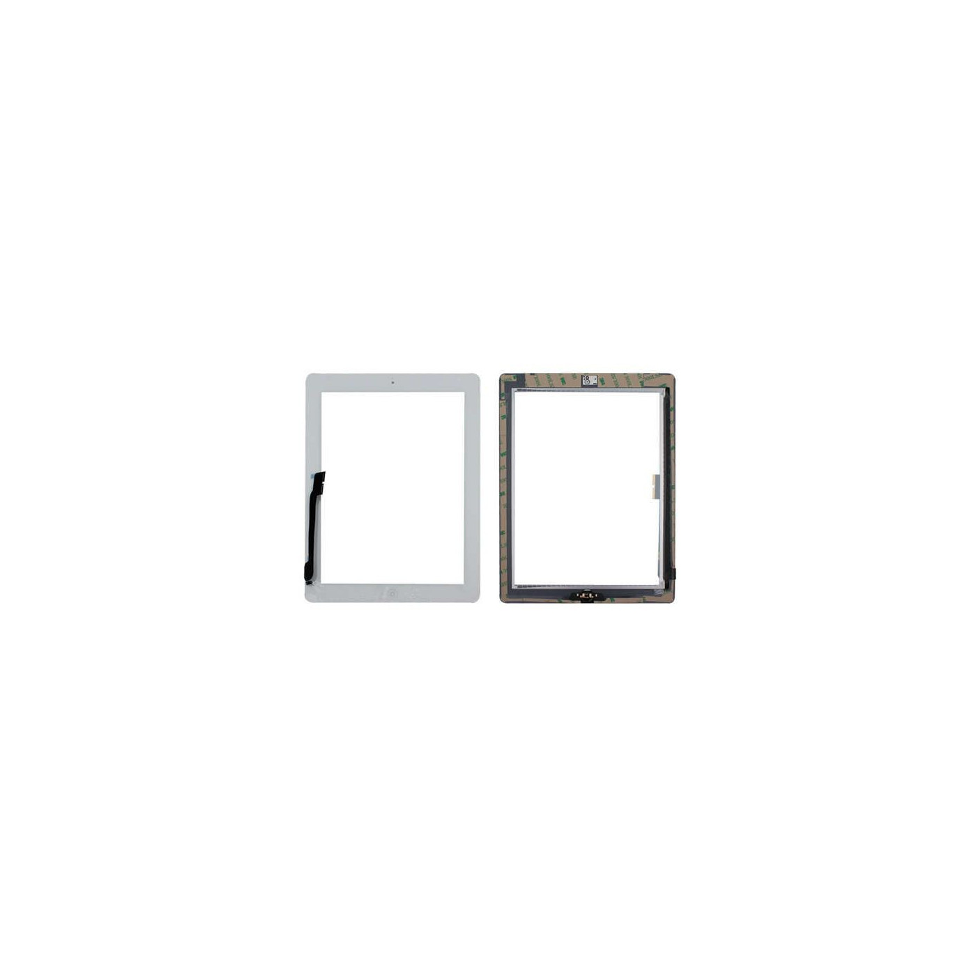 TOUCH SCREEN per Apple iPad 3 Bianco A1430 A1416 A1403 WiFi 3G VETRO Tasto Home