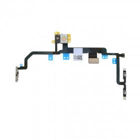 botones de volumen de energía flexible plano ON OFF Para Iphone 8 PLUS
