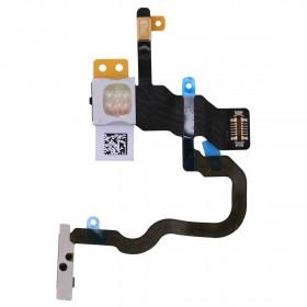 botón de encendido cable plano X para Iphone